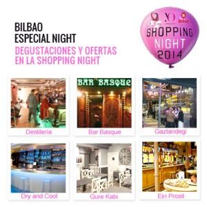 Eat&Drink Shopping NIght Bilbao 2014