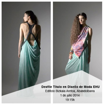 desfile diseño moda ehu bilbaoclick