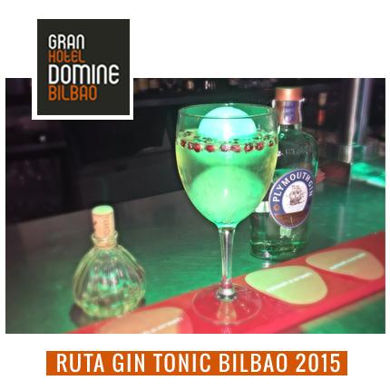 gin tonic bilbao ruta hotel domine