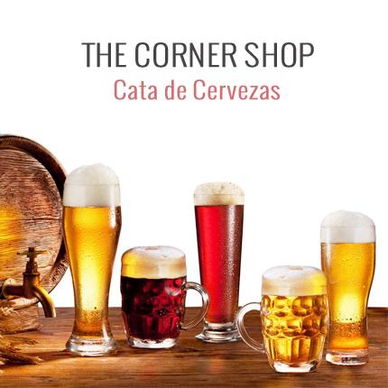 Cata de cervezas - The corner shop