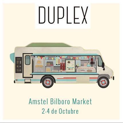 Foodtruck Duplex Amstel Bilboro Market bilbao