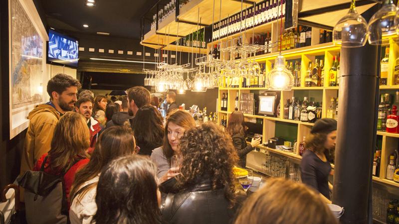 Inauguración L16 Bar Ledesma-bilbao pintxos cocteles ginebra