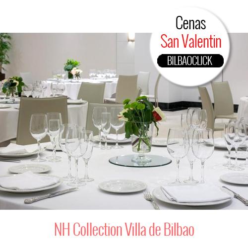 Menú San Valentín Bilbao Nh collection comer gastronomía
