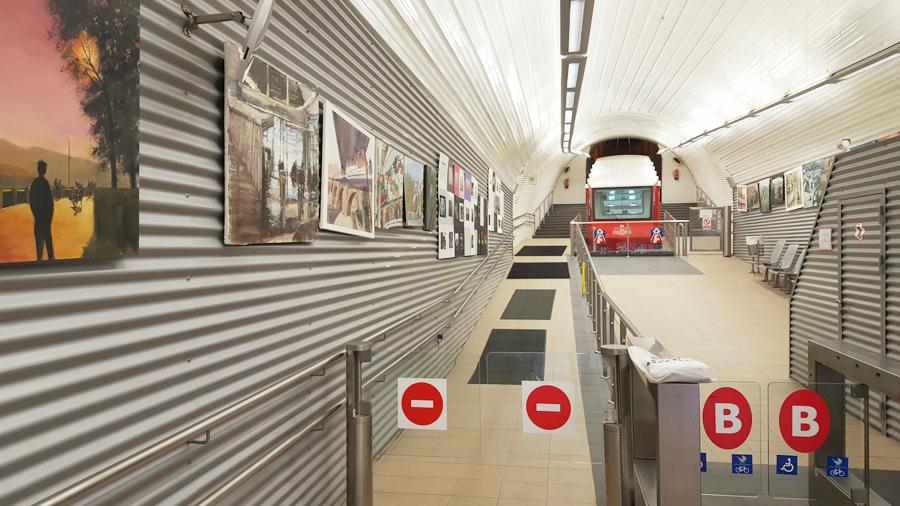 funicular artxanda bilbao exposición fotográfica