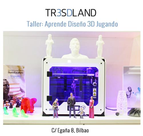 Talleres tresdland robótica 3D bilbao