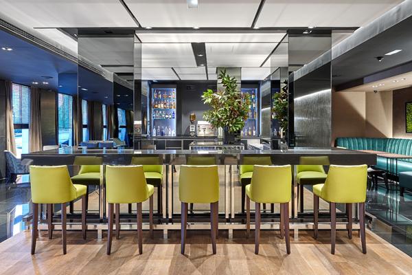 Bar del Hotel Domine copas bilbao cafe