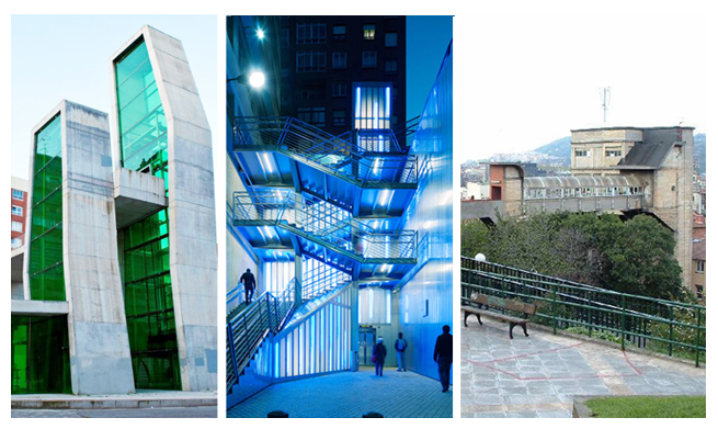 Ascensores de Bilbao Ruta