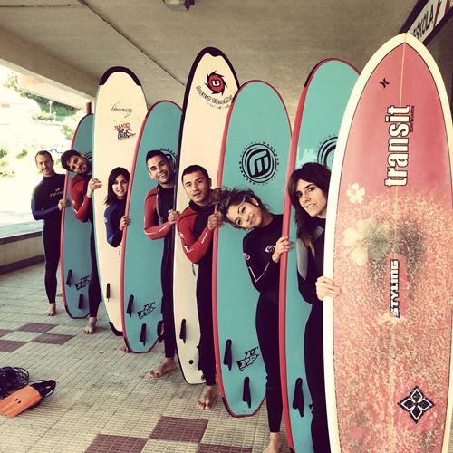 escuela surf bakio ripcurl