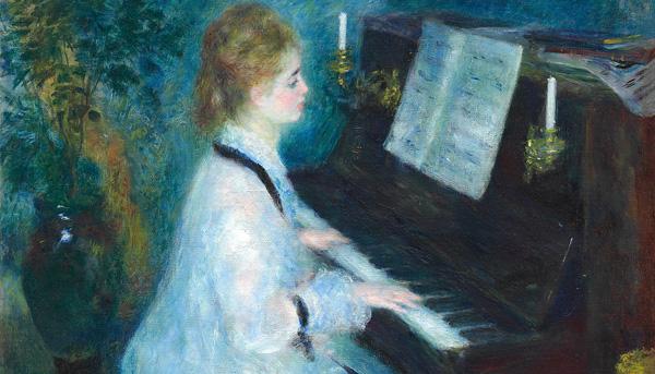 Renoir Intimidad Museo Bellas Artes