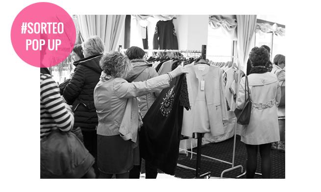 Cheque Regalo sorteo pop up shopping days
