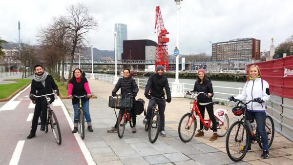 marcha ciclista bidegorris bilbao deporte