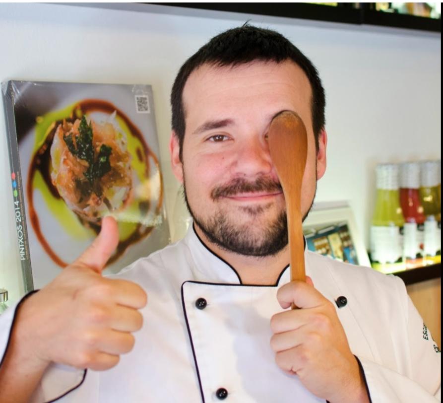 Aingeru Etxebarria Escuela Cocina Catering y Asesoria Bilbao