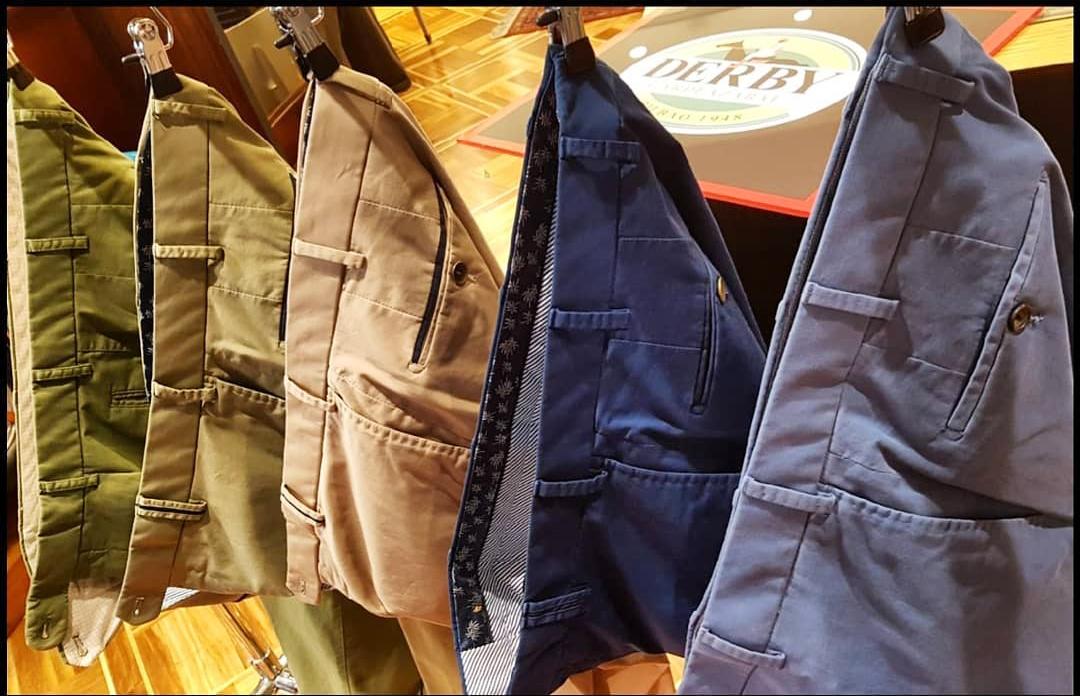 pantalones chinos en bilbao derby