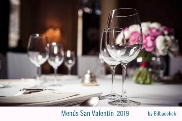 menus san valentin 2019