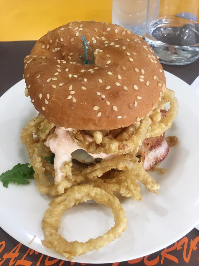 cafeteria florida bilbao hamburguesas plaza campuzano