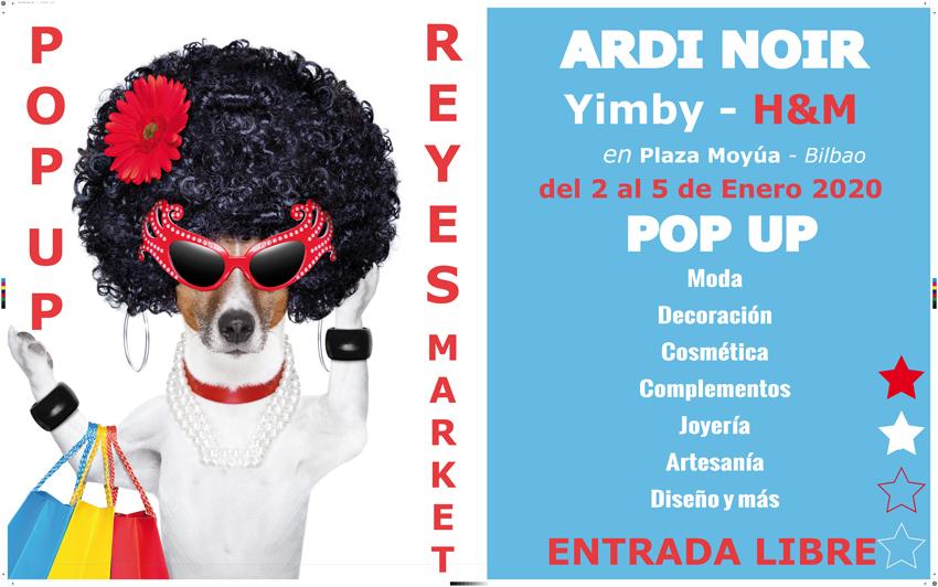 ardi noir market pop up hm plaza moyua 2020