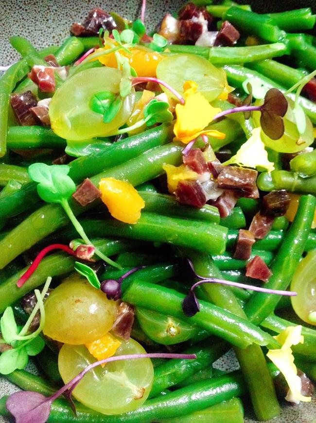 la gavilla bilbao lujo gastronomico ensaladas