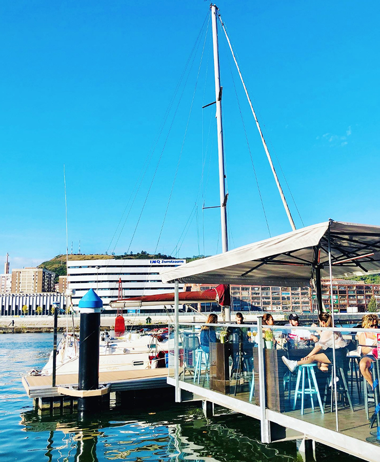 terraza el cargadero de Bilbao