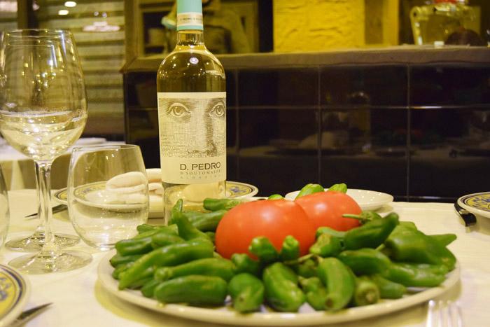 restaurante olagarro producto cantabrico tomate