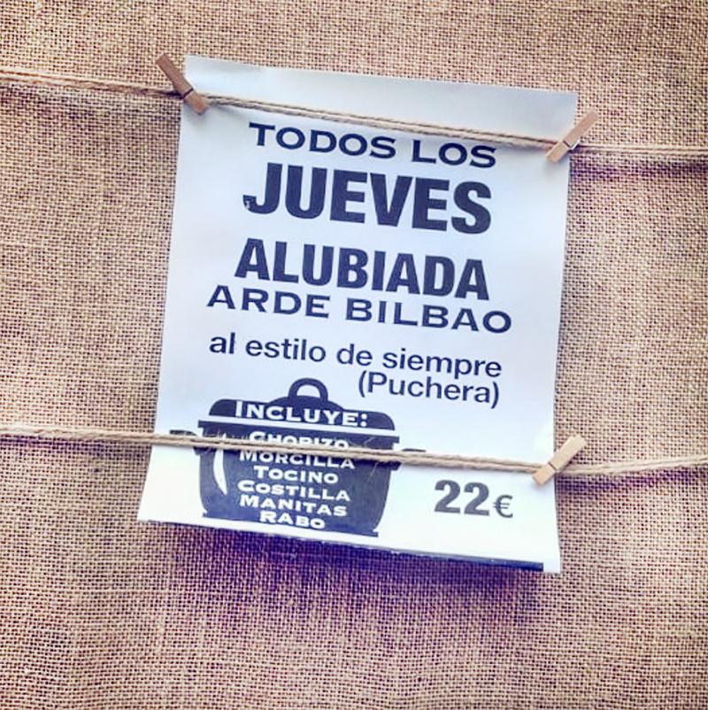Alubiada en Ade Bilbao