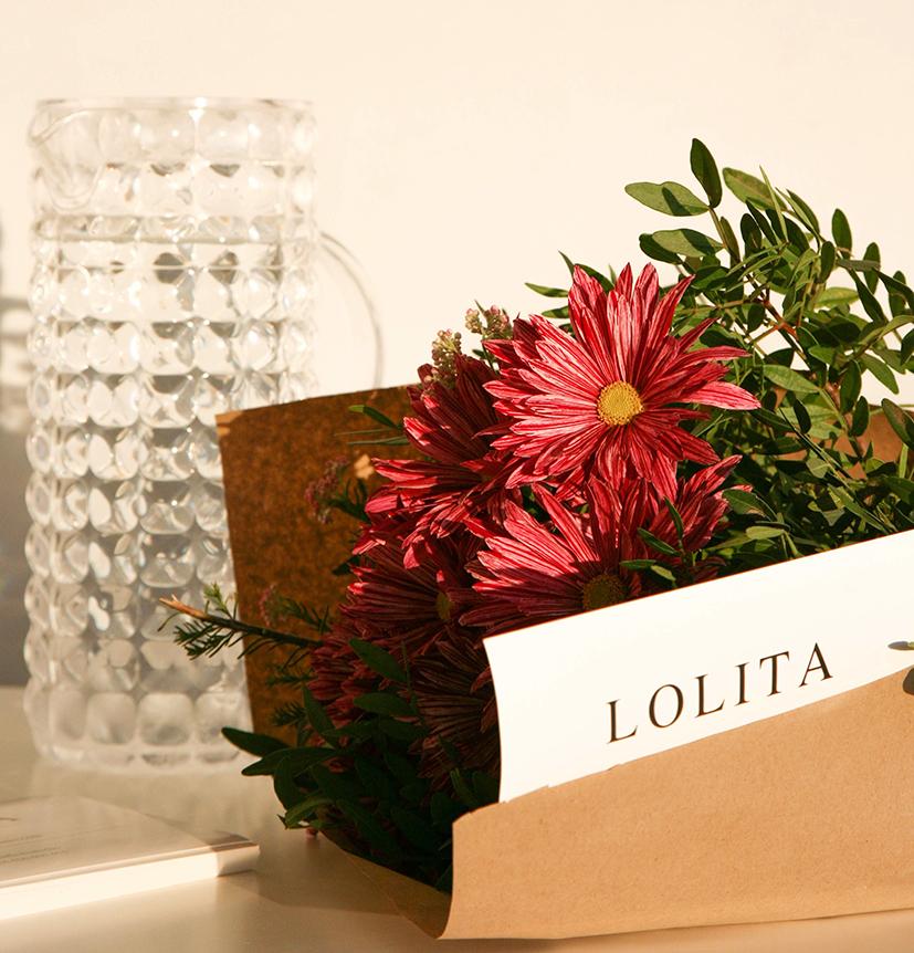 Lolita Flores en Flower Bar Bilbao