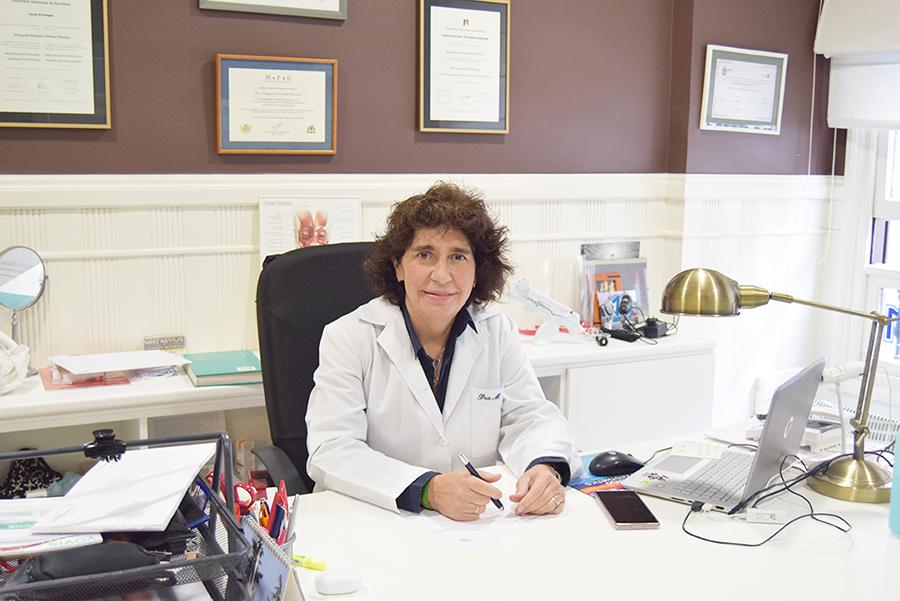 Entrevista a la doctora Margarita Esteban en su consulta