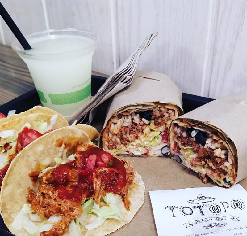 restaurantes mexicanos de Bilbao y sus burritos