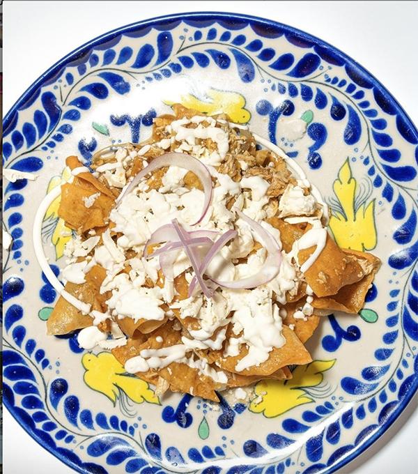 Plato mexicano de cocina internacional en Bilbao