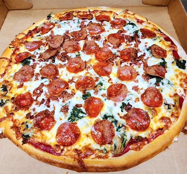 Servicio para llevar Bilbao Pizza