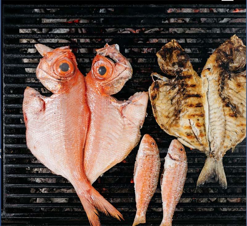 parrilas del Mar pescados a la brasa