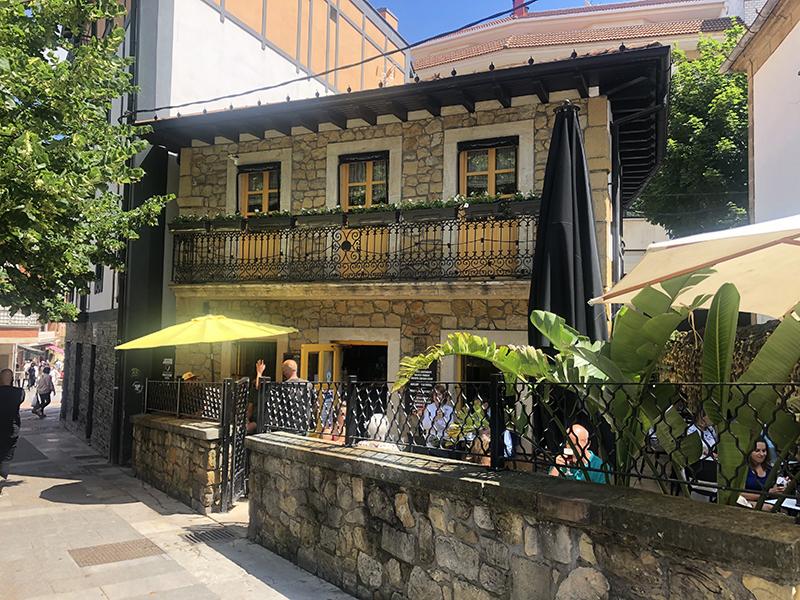 Casa del restaurante Tellagorri de Algorta