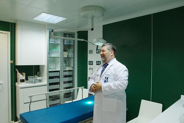 Doctor Constantino Rodriguez de la Clinica Urquijo