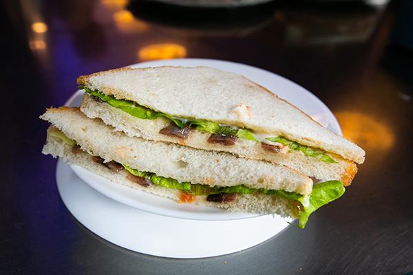 sandwiche más rico de Bilbao en el bar alameda