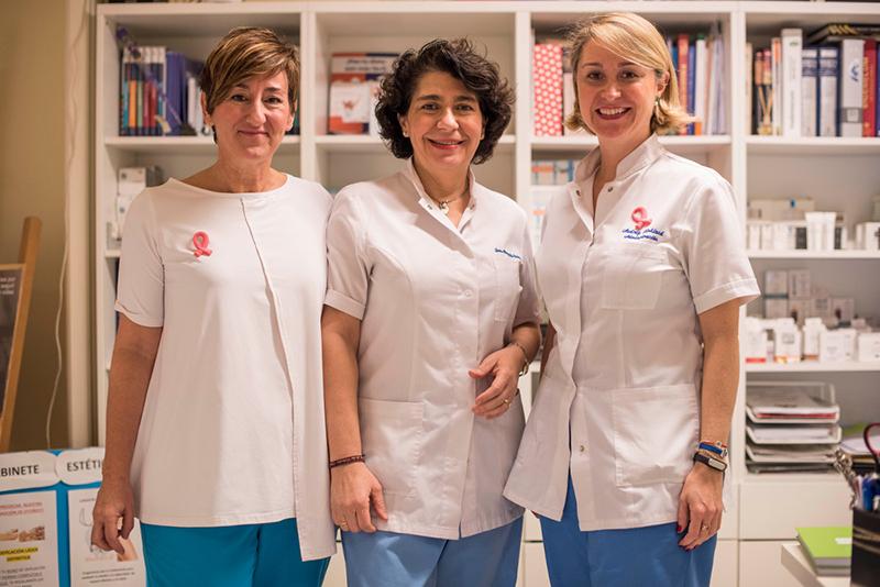Doctora Margarita Esteban y su equipo