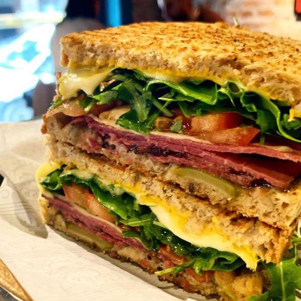 Sandwiches de Bilbao en Copper deli