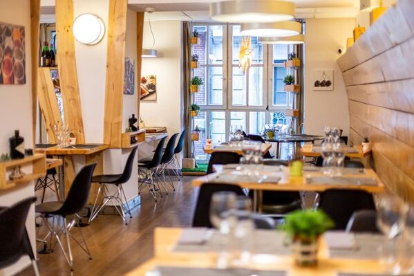 Lurrina Casco Viejo restaurante de cocina vasca
